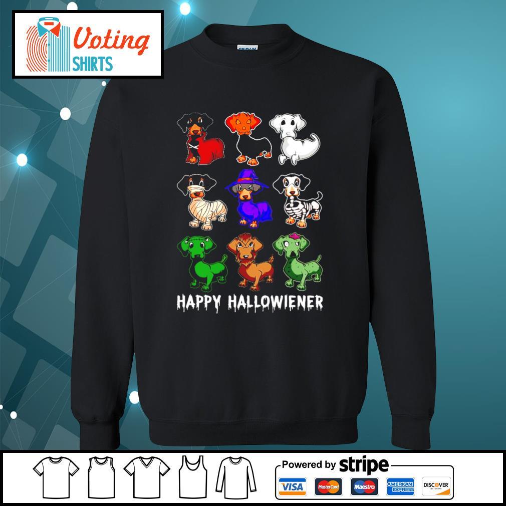 Dachshund Happy Hallowiener Halloween s sweater