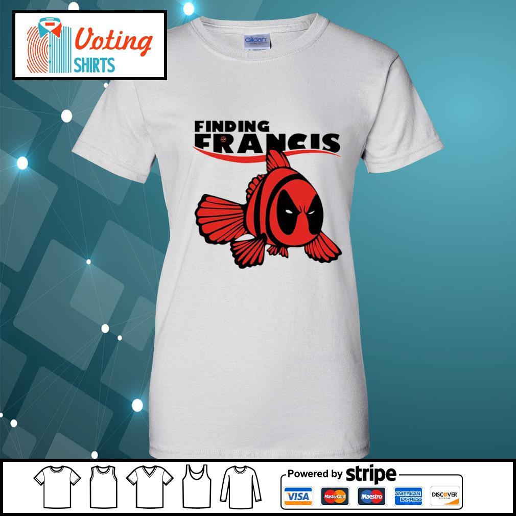 Disney Nemo Deadpool finding Francis s ladies-tee
