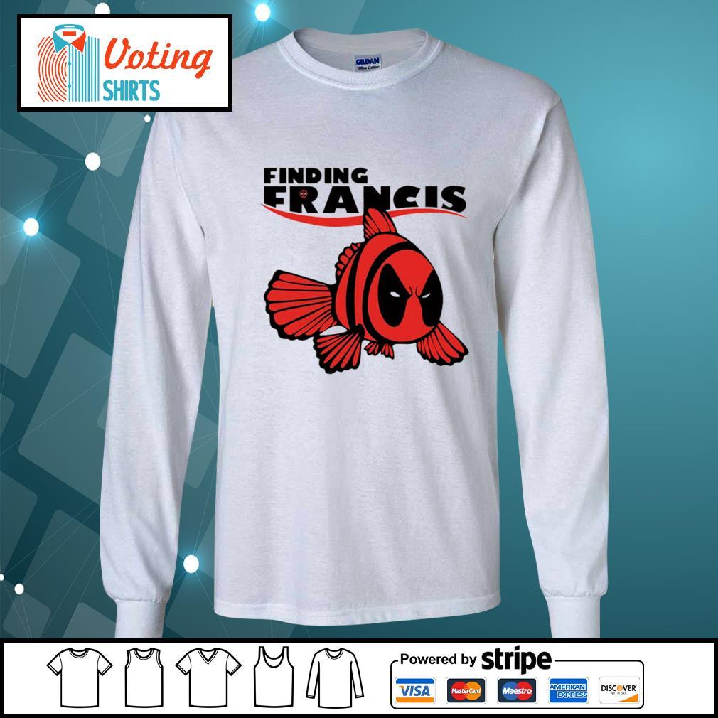 Disney Nemo Deadpool finding Francis s longsleeve-tee
