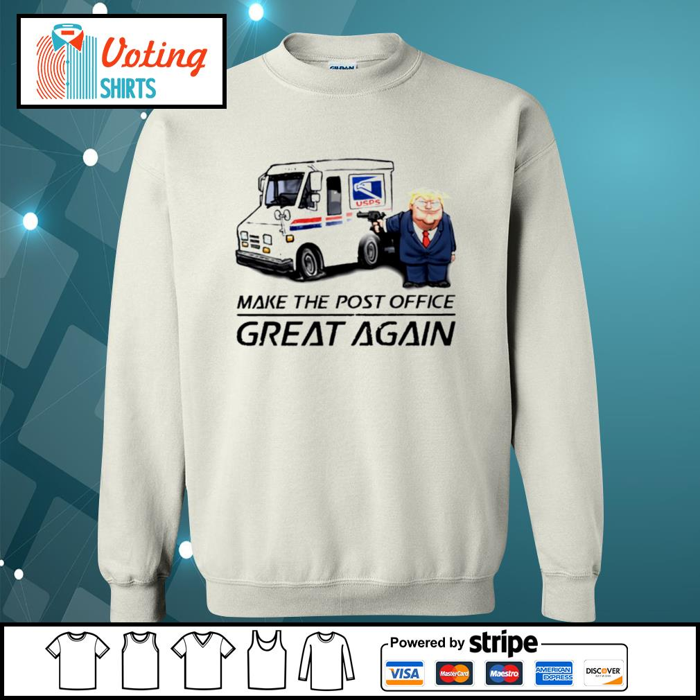 Donald Trump USPS make the post office great again s sweater