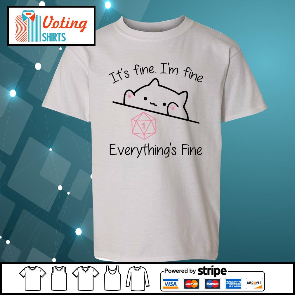 Dungeon Meowster it_s fine I_m fine everything_s fine s youth-tee