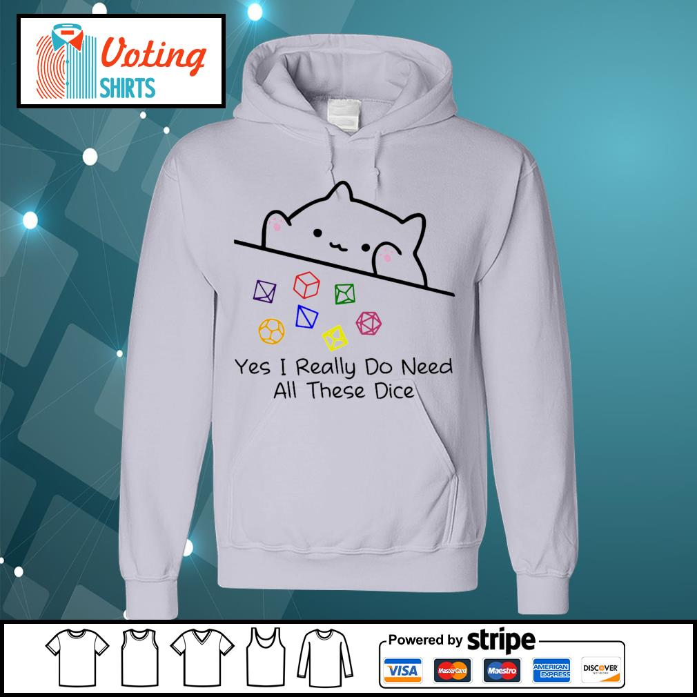 Dungeon Meowster yes I really do need all these dice s hoodie