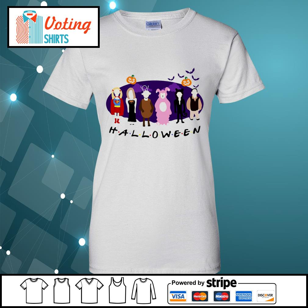 Friends Tv Show The One with the Halloween Party s ladies-tee