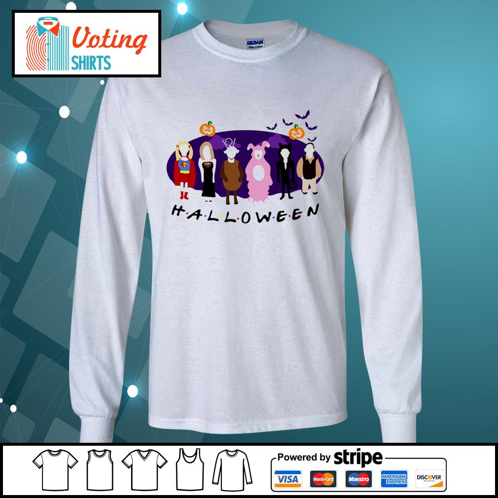 Friends Tv Show The One with the Halloween Party s longsleeve-tee