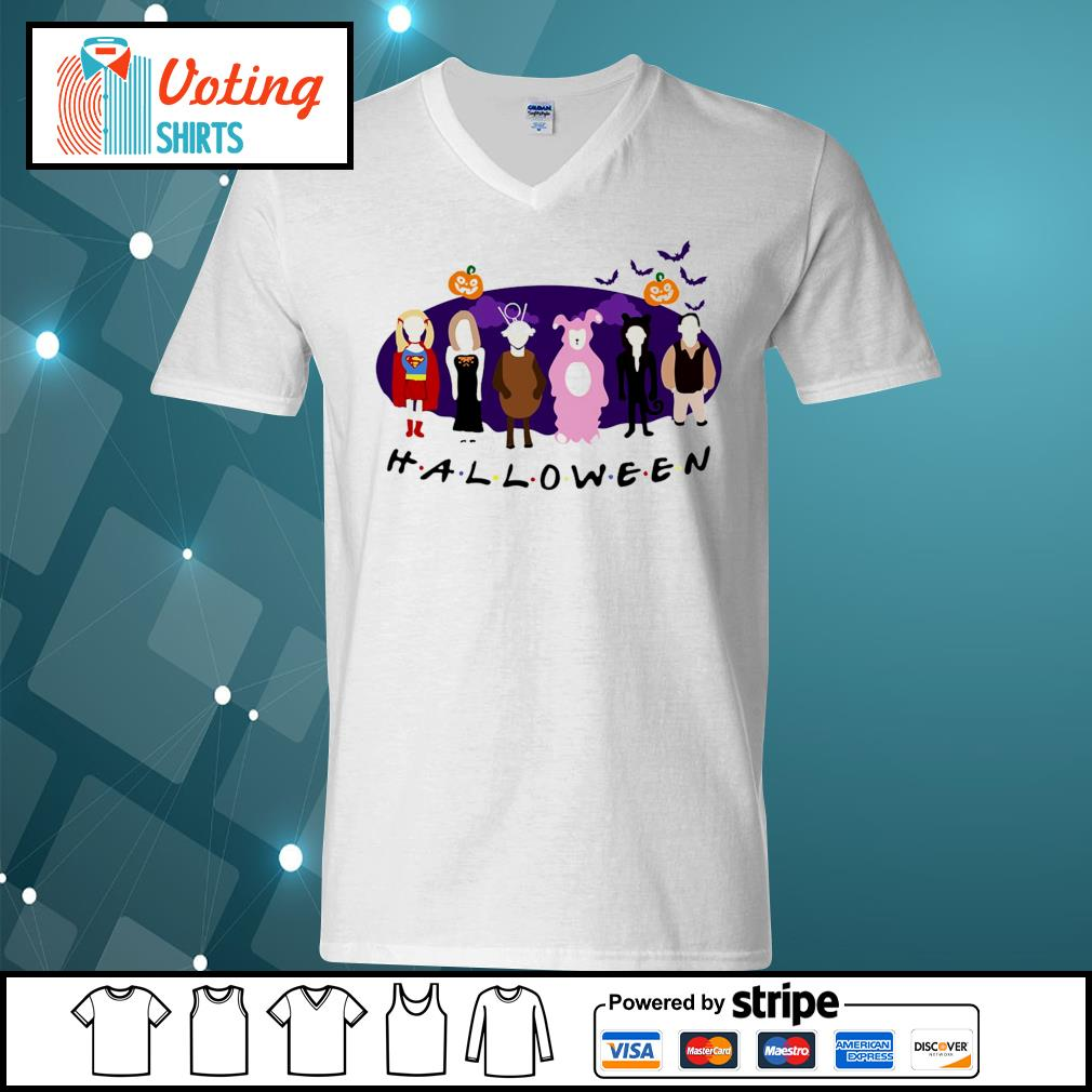 Friends Tv Show The One with the Halloween Party s v-neck-t-shirt