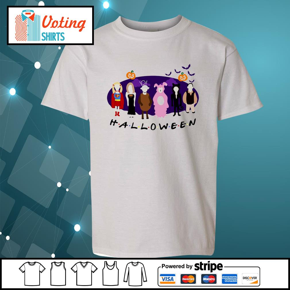 Friends Tv Show The One with the Halloween Party s youth-tee