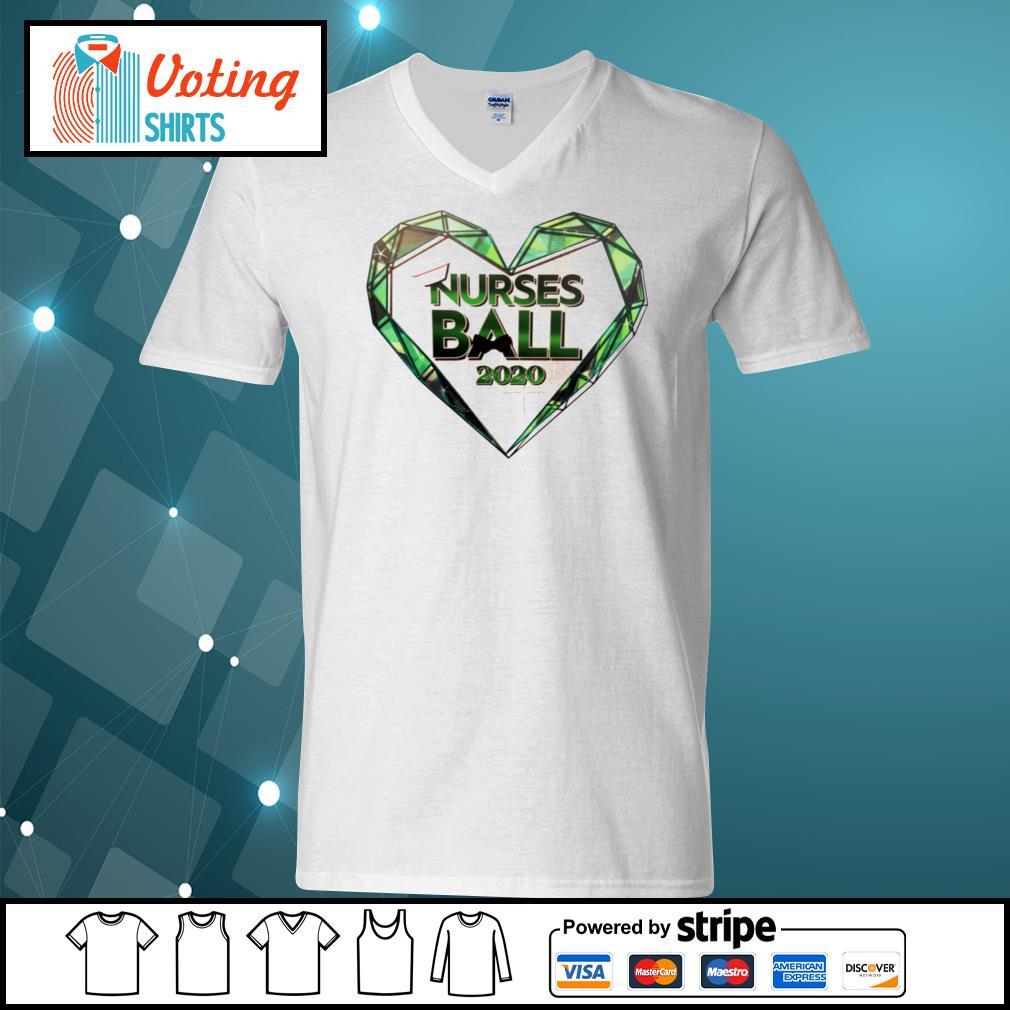 General hospital nurses ball 2020 s v-neck-t-shirt
