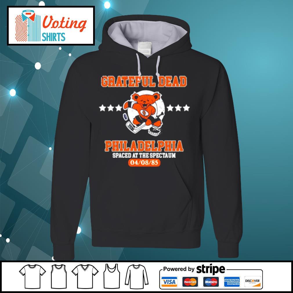 Grateful Dead Philadelphia Spaced at the spectaum s hoodie