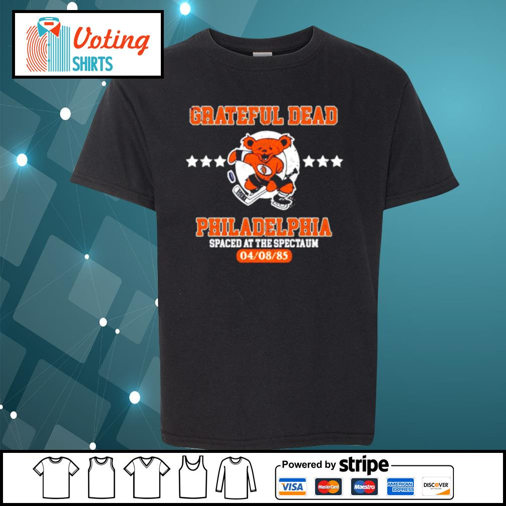Grateful Dead Philadelphia Spaced at the spectaum s youth-tee