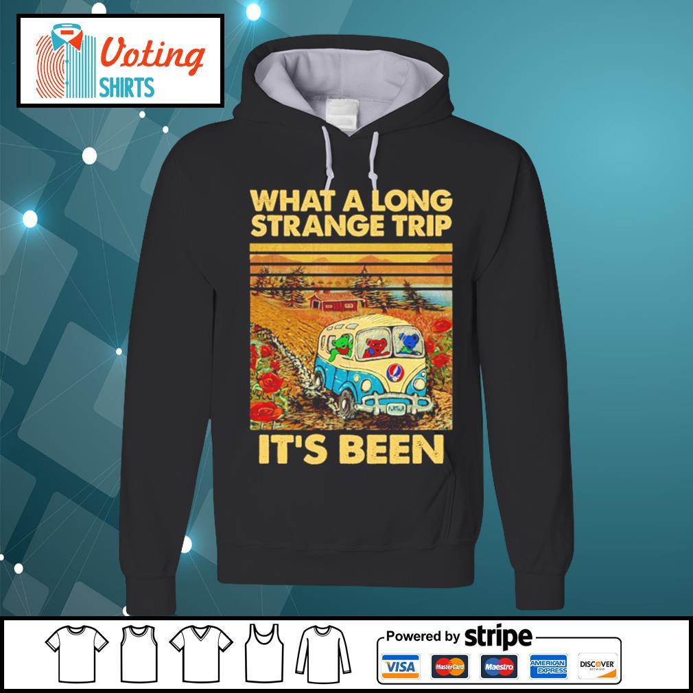 Grateful Dead what a long strange trip it's been vintage s hoodie
