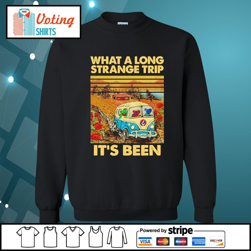 Grateful Dead what a long strange trip it's been vintage s sweater