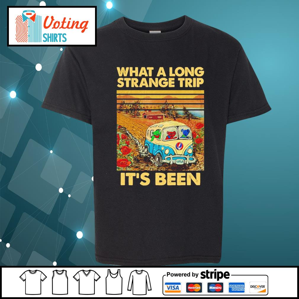 Grateful Dead what a long strange trip it's been vintage s youth-tee