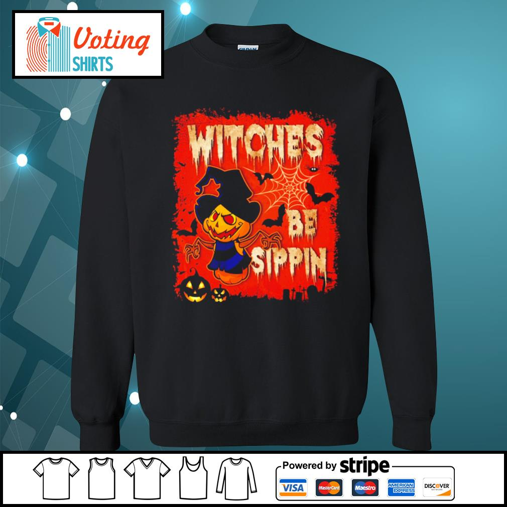 Halloween witches be sippin s sweater