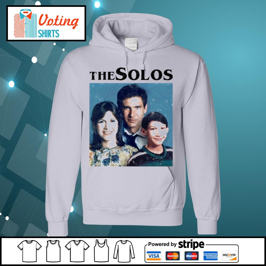 Han Solo Princess Leia Kylo Ren The Solos family s hoodie