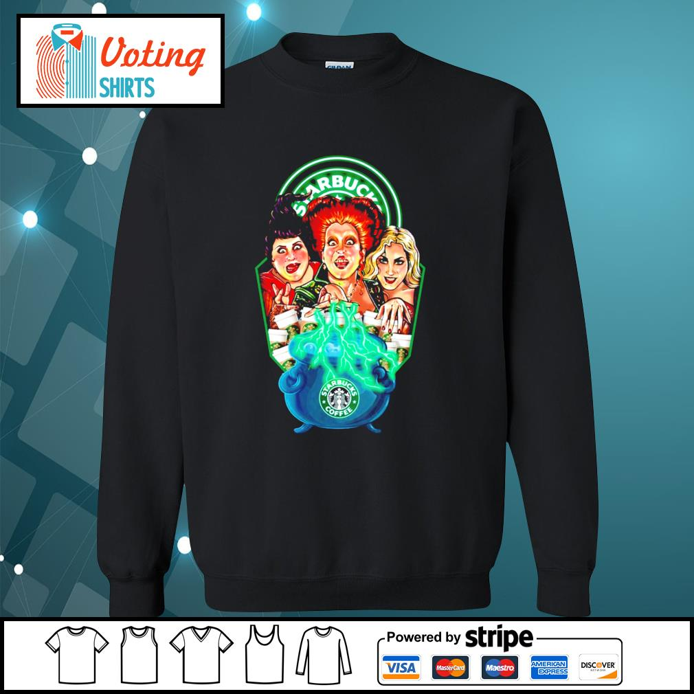 Hocus Pocus Sanderson sisters Starbucks coffee s sweater