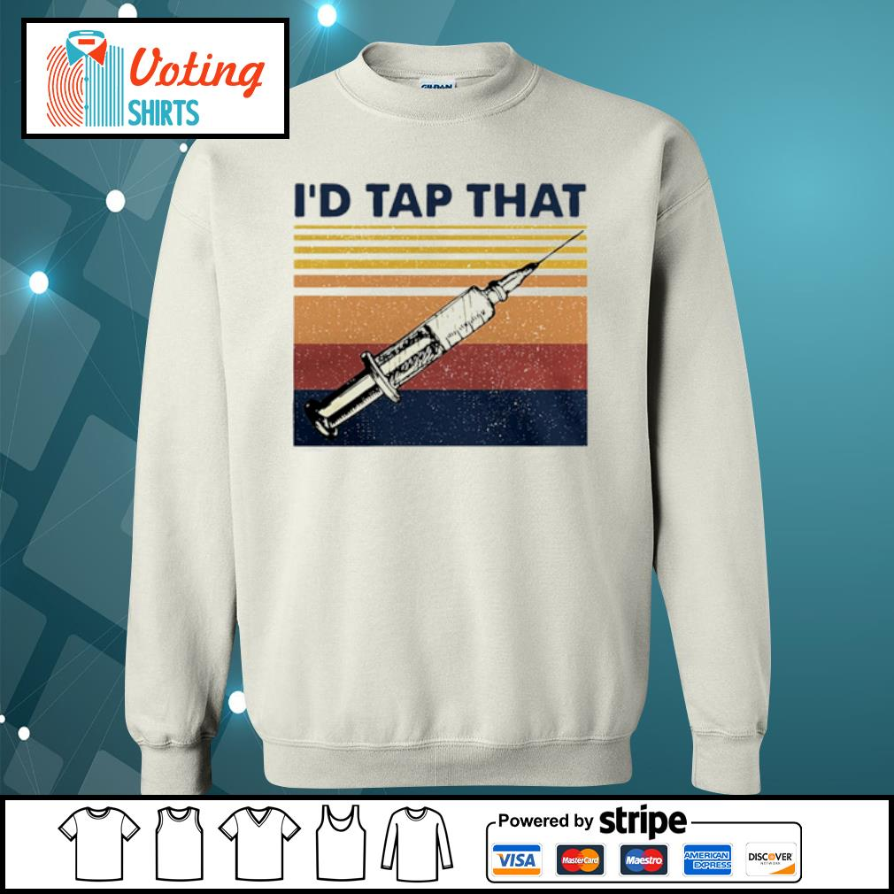 I_d Tap That Phlebotomist Vintage Retro s sweater