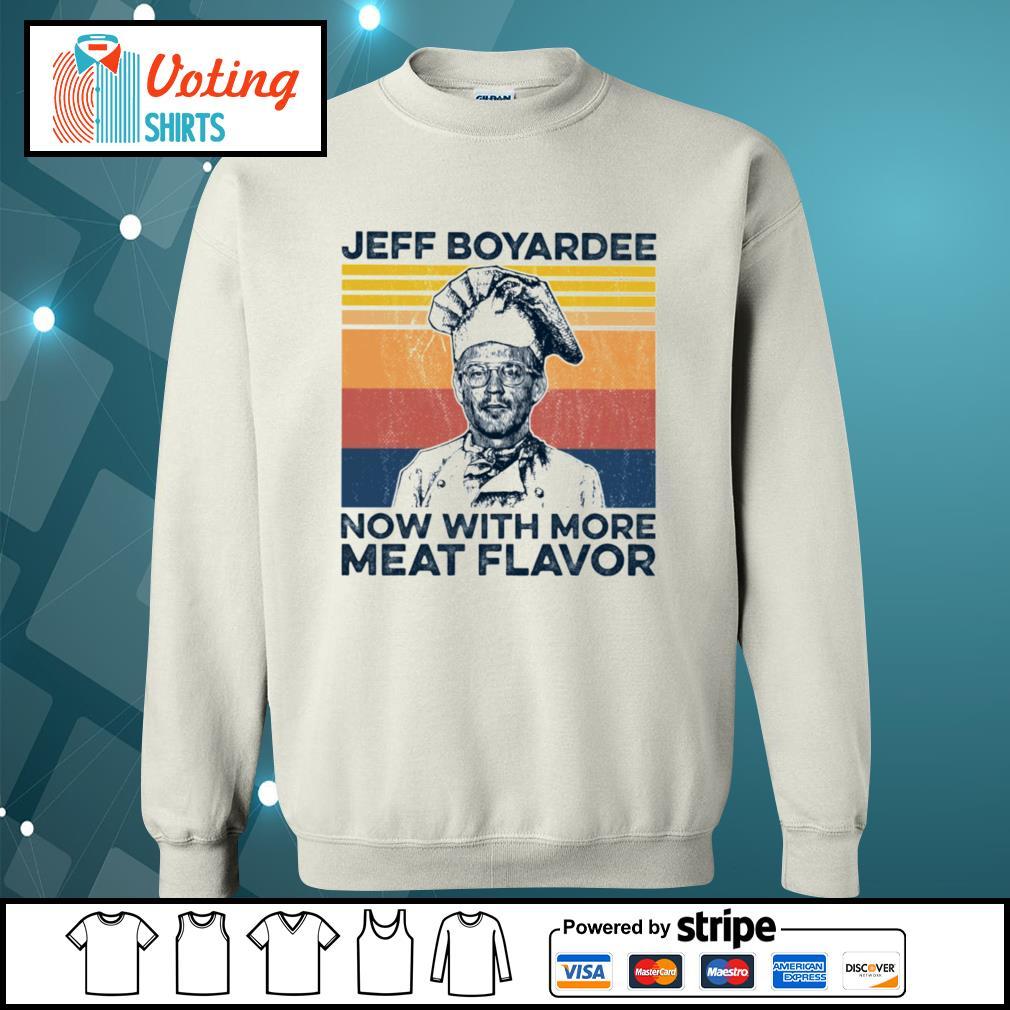 Jeff Boyardee now with more meat flavor vintage s sweater