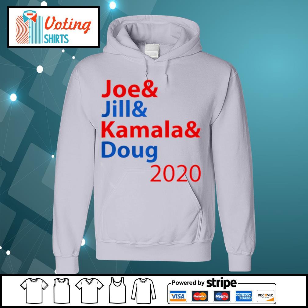 Joe And Jill And Kamala And Doug 2020 s hoodie