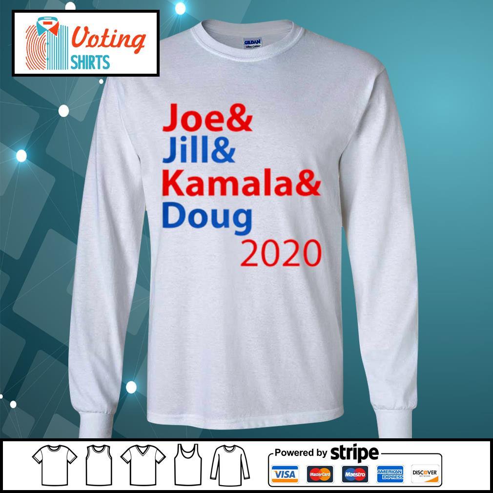 Joe And Jill And Kamala And Doug 2020 s longsleeve-tee