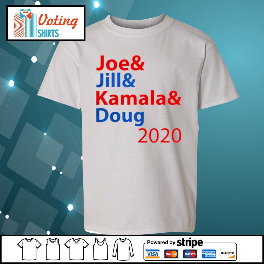 Joe And Jill And Kamala And Doug 2020 s youth-tee