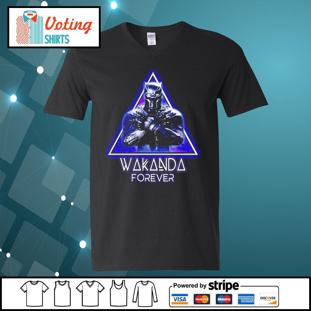 King of Wakanda Black Panther Wakanda forever s v-neck-t-shirt