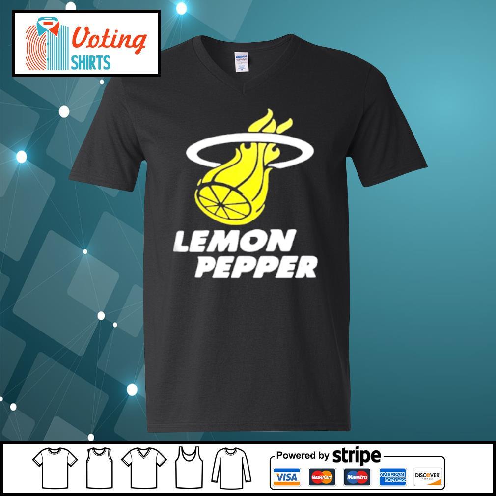 Lemon Pepper s v-neck-t-shirt