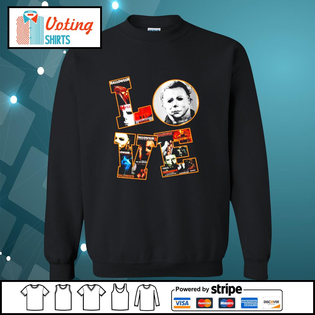 Love Michael Myers Halloween s sweater