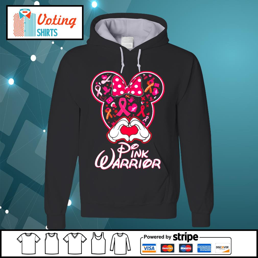 Minnie Mouse pink warrior s hoodie
