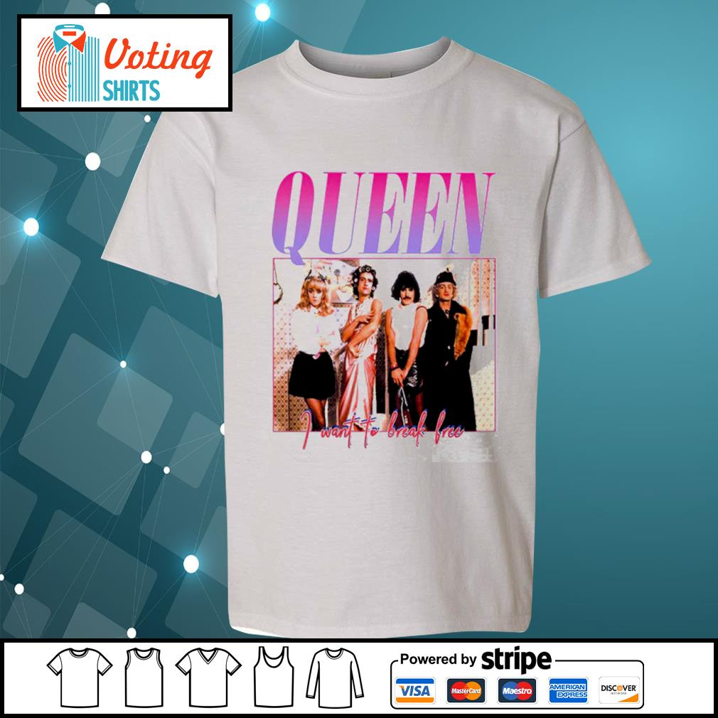 Queen I want to break free s youth-tee