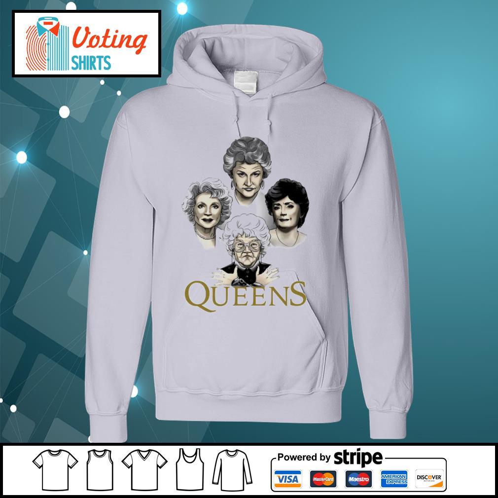 Queens The Golden Girls Queen Band Bohemian Rhapsody Mashup Shirt hoodie