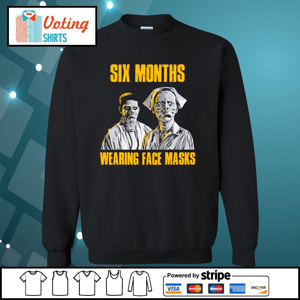 Six months wearing face masks s sweater