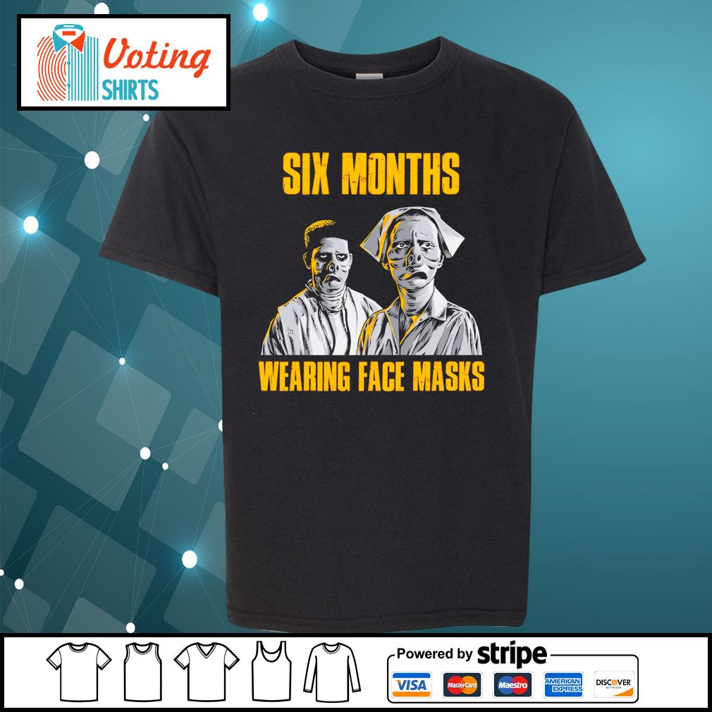 Six months wearing face masks s youth-tee