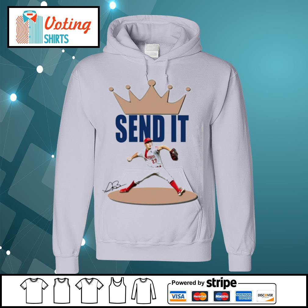 Trevor Bauer send it s hoodie