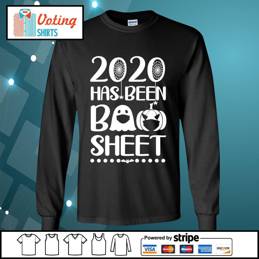 2020 has been boo sheet s longsleeve-tee