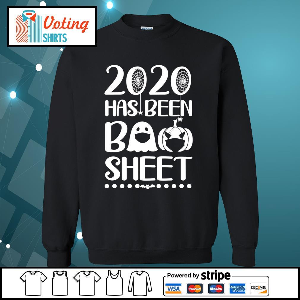 2020 has been boo sheet s sweater