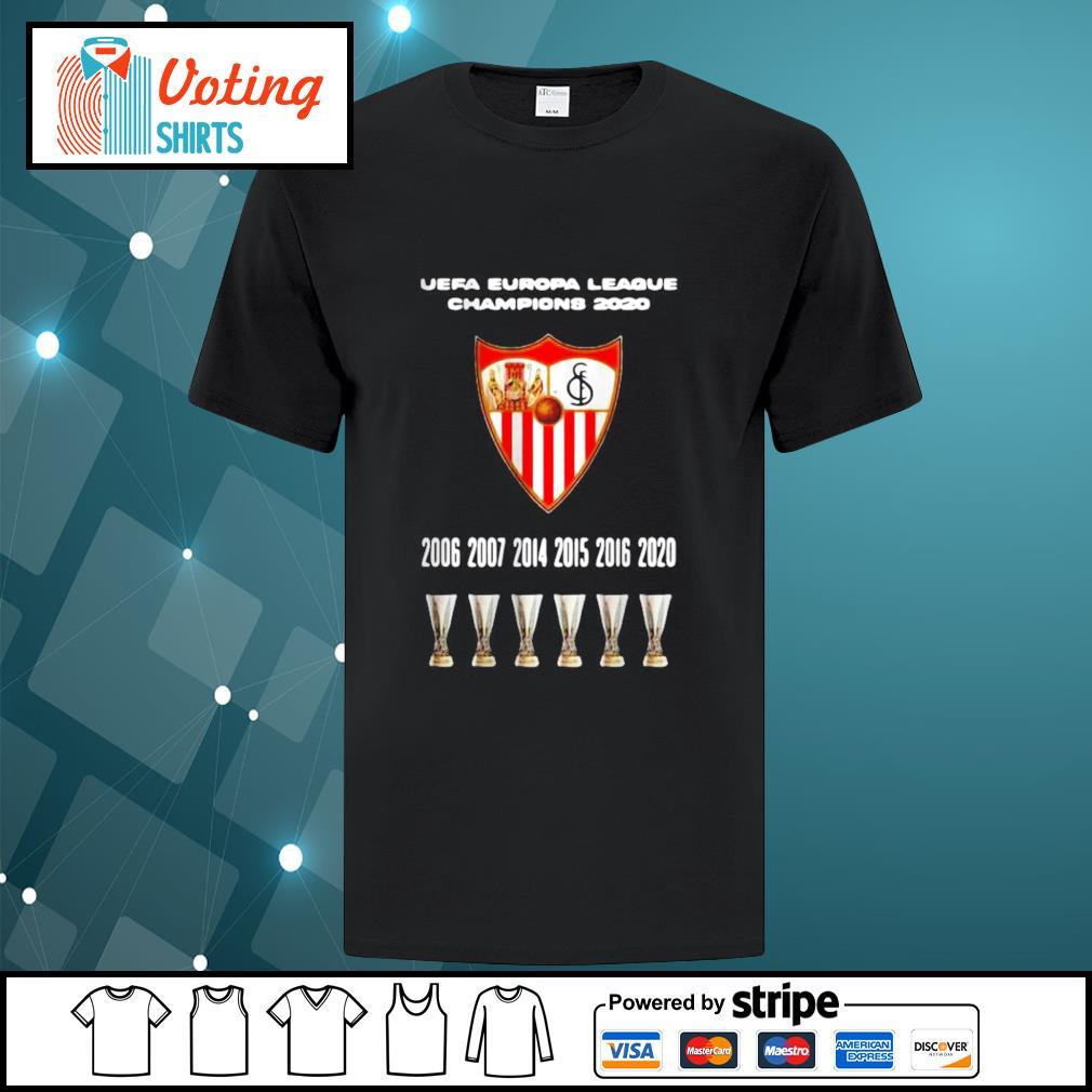 2020 Sevilla Champions Europa League Shirt