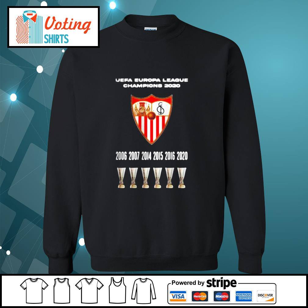 2020 Sevilla Champions Europa League Shirt sweater