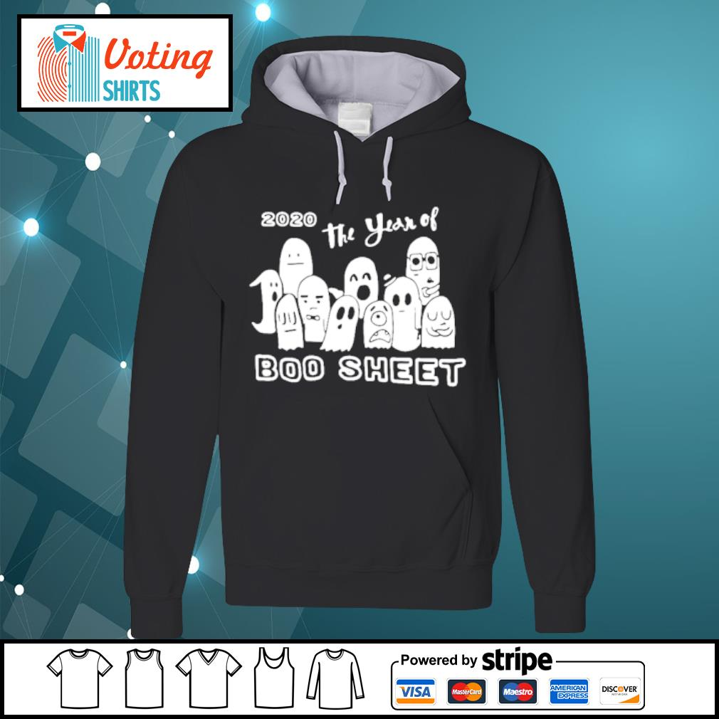 2020 The Years Of Boo Sheet s hoodie