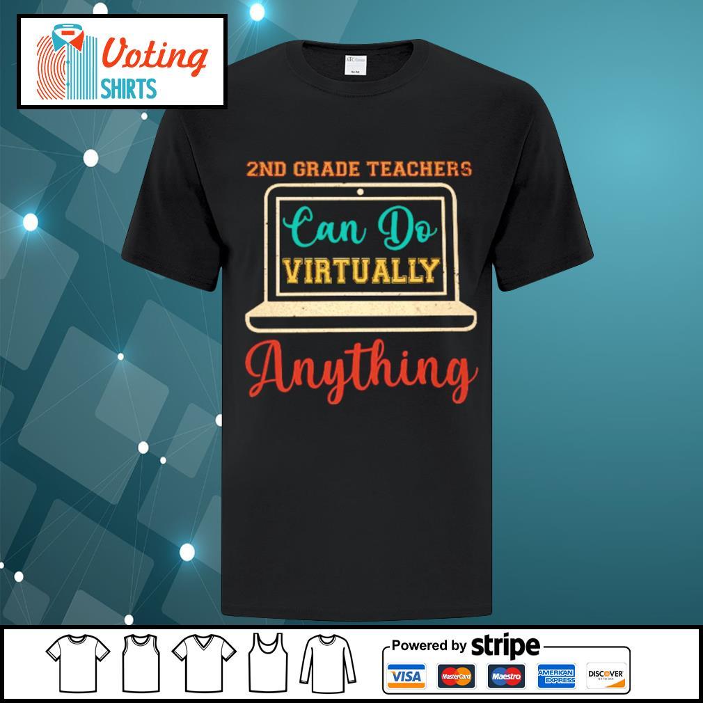 2nd grade can do virtually anything vintage shirt