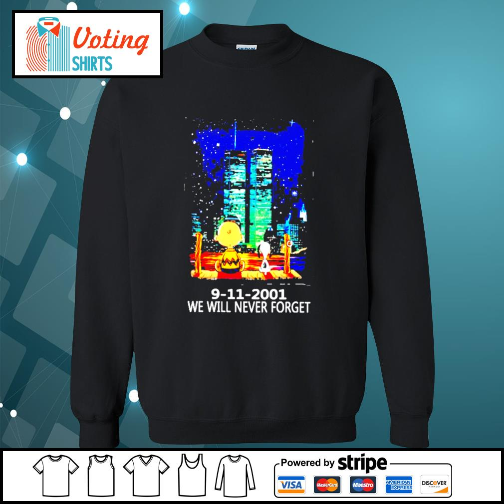 9 11 2001 we will never forget s sweater