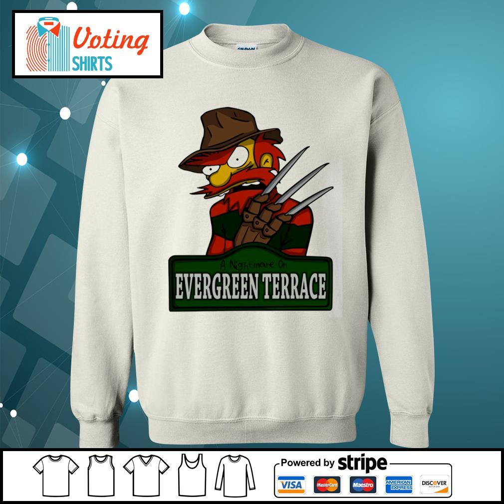 A nightmare on Evergreen Terrace s sweater