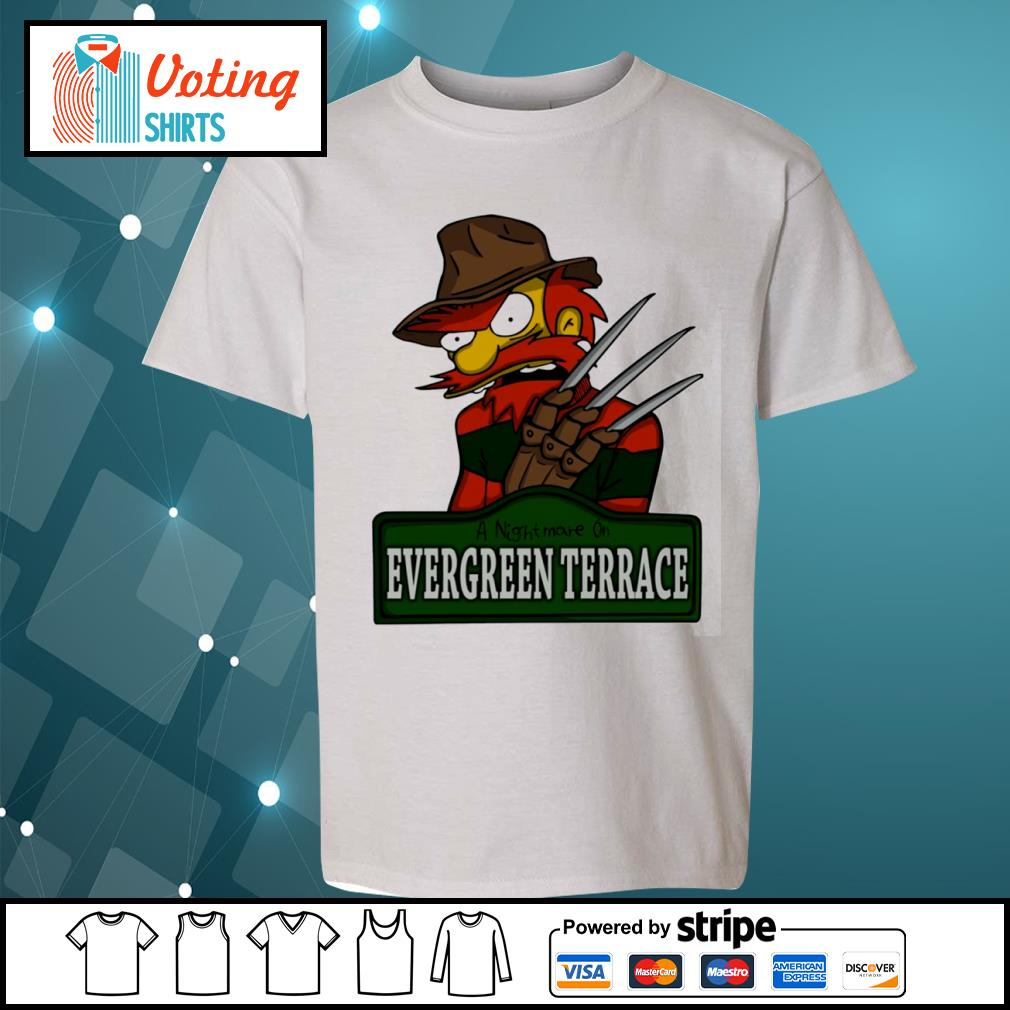 A nightmare on Evergreen Terrace s youth-tee