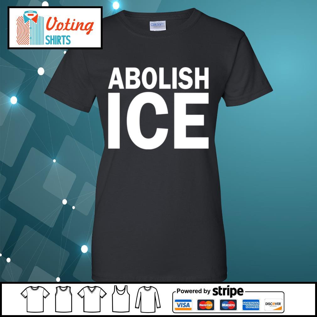 Abolish Ice s ladies-tee