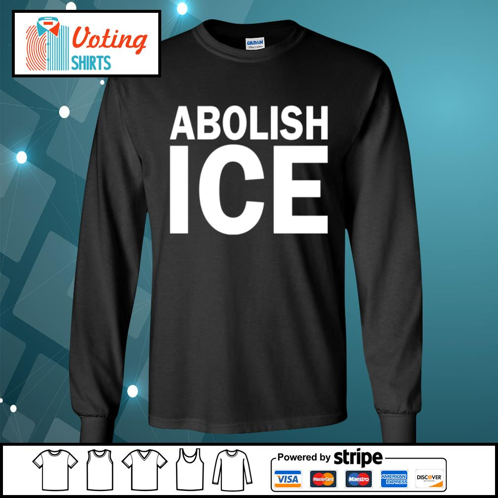 Abolish Ice s longsleeve-tee