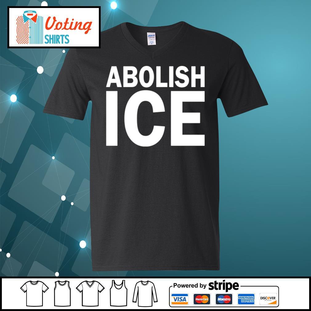 Abolish Ice s v-neck-t-shirt
