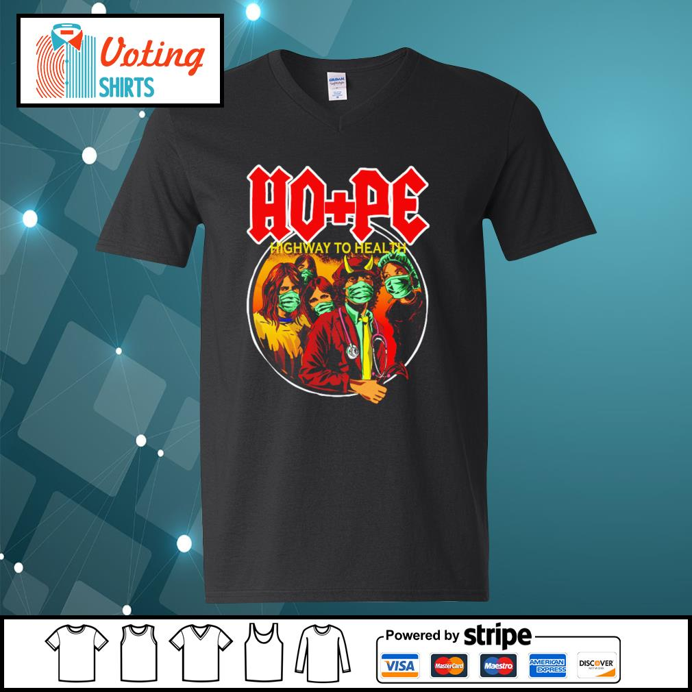 ACDC hope highway to health s v-neck-t-shirt