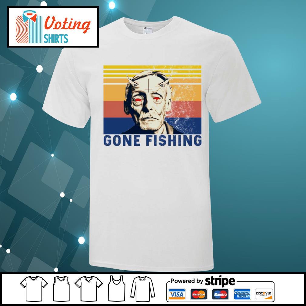 Albert Fish gone fishing vintage shirt