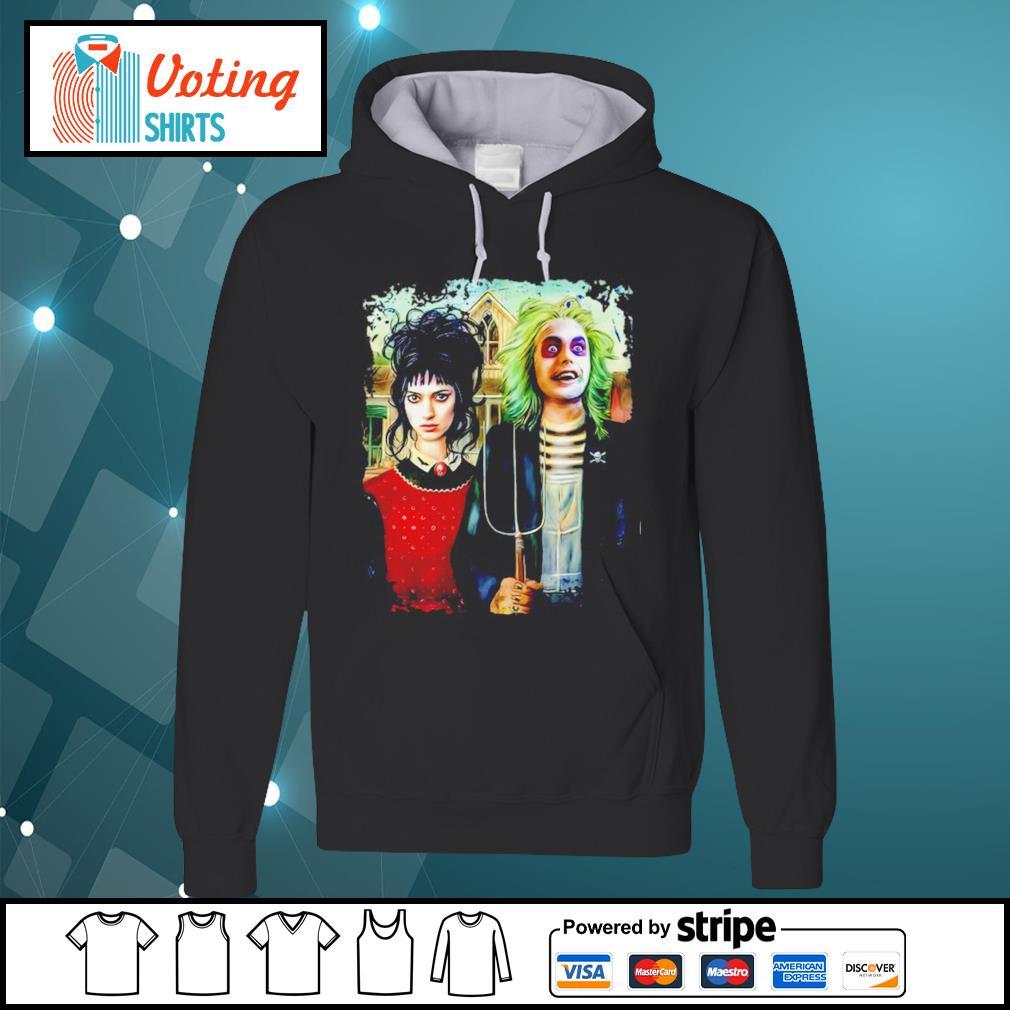 American Gothic Beetlejuice and Lydia s hoodie