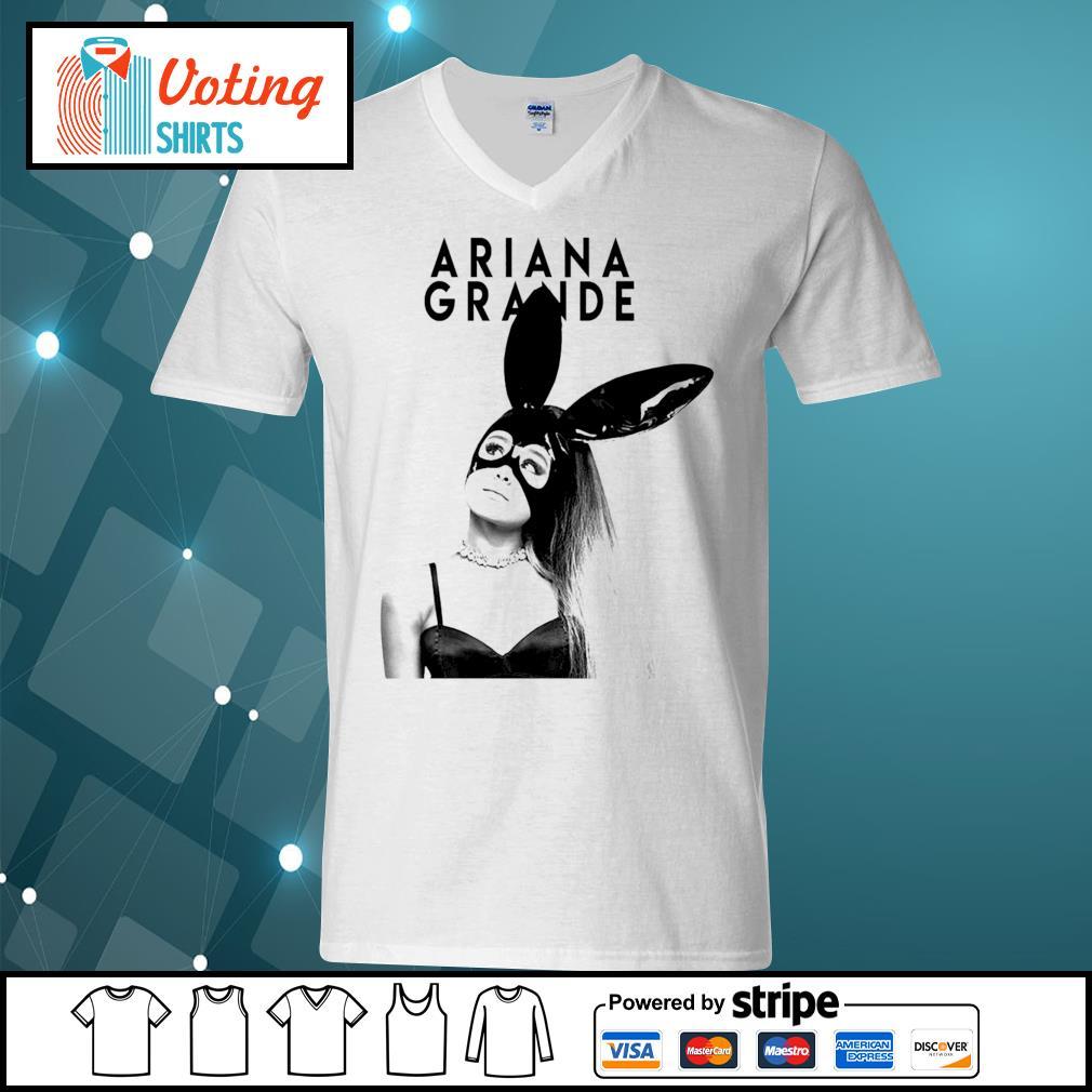 Ariana Grande Bunny s v-neck-t-shirt
