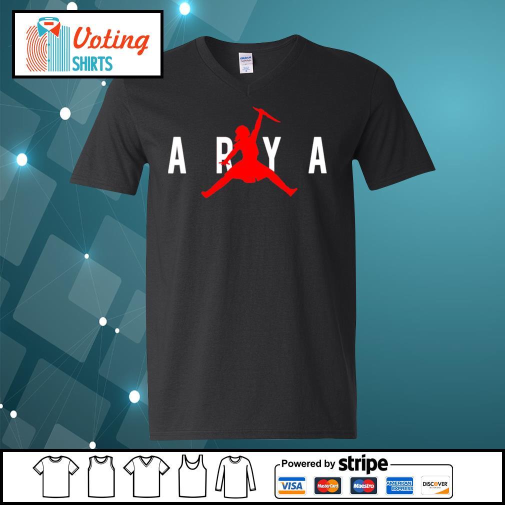 Arya Air Jorda s v-neck-t-shirt